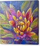Artichoke Leaves Canvas Print