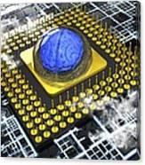 Artificial Intelligence, Conceptual Canvas Print