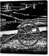 Artillery At Gettysburg Canvas Print
