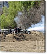Artillery Support Canvas Print