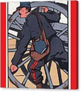 Artilleur 1915 With Fgb Border Canvas Print