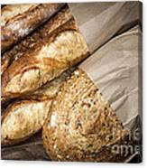 Artisan Bread Canvas Print
