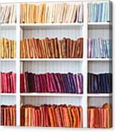 Artisan Linen Shelf Canvas Print