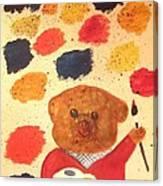 Artisan The Bear Canvas Print