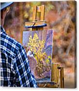 Artist At Work - Zion Canvas Print