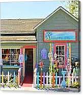 Artist Gallery In Cambria California  7142 Canvas Print