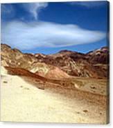 Artist Pallet Death Valley Canvas Print