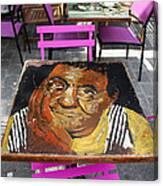 Artist Place Canvas Print
