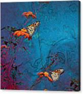 Artistic Butterflies Canvas Print