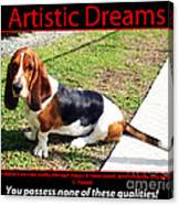 Artistic Dreams Canvas Print