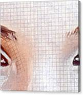 Artistic Eyes Canvas Print