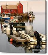 Artistic Rockport Canvas Print