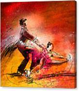 Artistic Roller Skating 02 Canvas Print