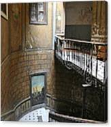 Artistic Staircase In Tbilisi Canvas Print