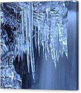 Artistry In Ice 16 Canvas Print