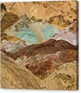 Artist's Paint Palette Abstract Canvas Print