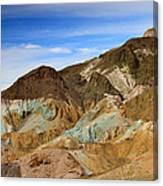 Artists Palette Death Valley National Park Canvas Print