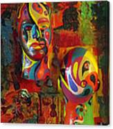 Artist's Pleasures Canvas Print