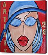 Artists Stores Canvas Print
