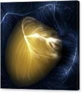 Artwork Of Laniakea Supercluster Canvas Print