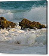 Aruba Spray Canvas Print