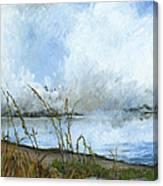 As The Mist Rises Canvas Print