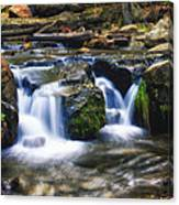 As The Water Flows  Canvas Print
