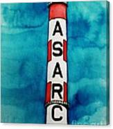 Asarco In Watercolor Canvas Print