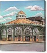 Asbury Park Carousel House Canvas Print