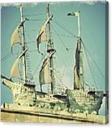 Asbury Park Convention Hall Ship Canvas Print
