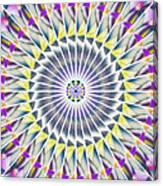 Ascending Eye Of Spirit Kaleidoscope Canvas Print