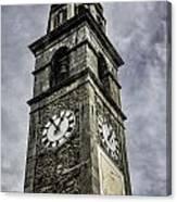 Ascona Clock Tower Canvas Print