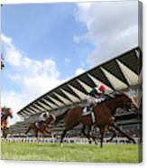 Ascot Races Canvas Print