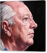 Ashby's Portrait Canvas Print