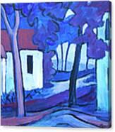Ashcroft Manor Buildings Canvas Print