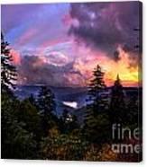 Asheville Heaven Canvas Print