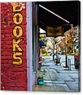 Ashland Bookstore Canvas Print