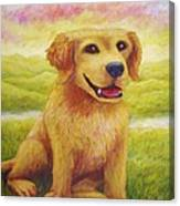 Ashly's Retriever   Canvas Print