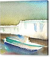 Ashore In Lanzarote Canvas Print