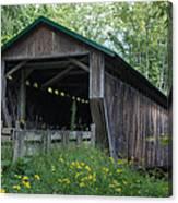 Ashtabula Collection - Riverdale Road Covered Bridge 7k02981 Canvas Print
