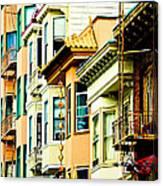Asia Town Canvas Print