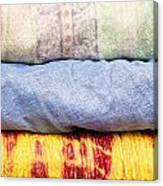 Asian Cloths Canvas Print