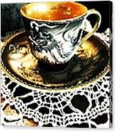 Asian Teaware Canvas Print