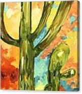 Asleep In The Desert Canvas Print