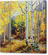 Aspen Cabin Canvas Print