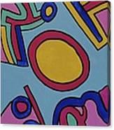 Aspen Carnival Canvas Print