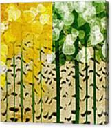 Aspen Colorado 4 Seasons Abstract Canvas Print