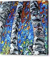 Aspen Up Canvas Print