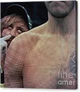 Ass Seen On Tv Canvas Print