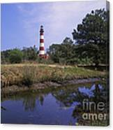 Assateague Lighthouse - Fm000081 Canvas Print
